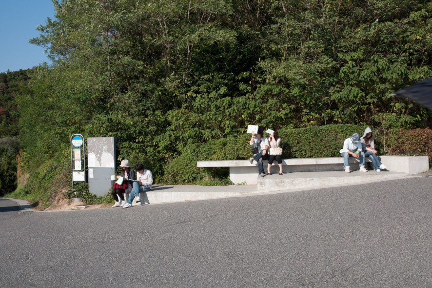 Couples at Naoshima